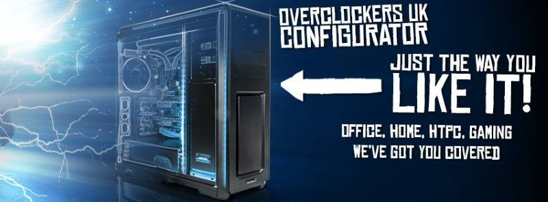 overclockers configurator pc
