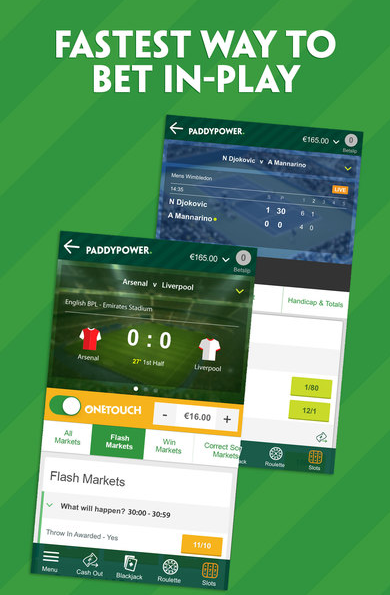 paddy power fastest way to bet in play