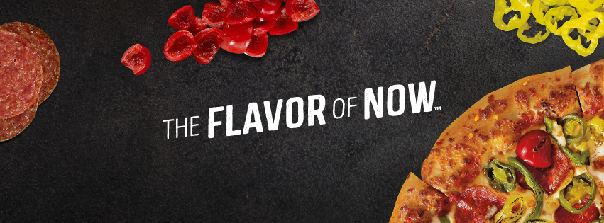 pizza hut flavour of now menu