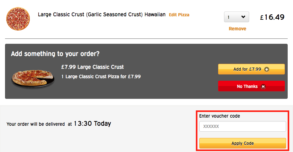 Pizza hut hawaii coupon code