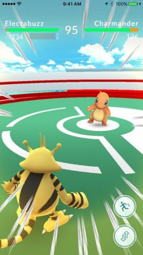 pokemon go gym battle