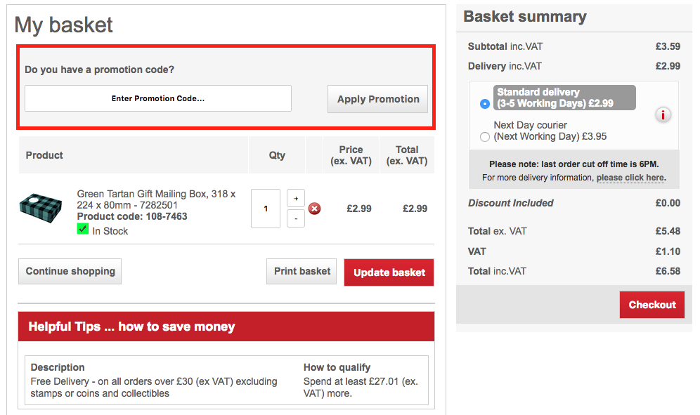 royal mail redirection promo code