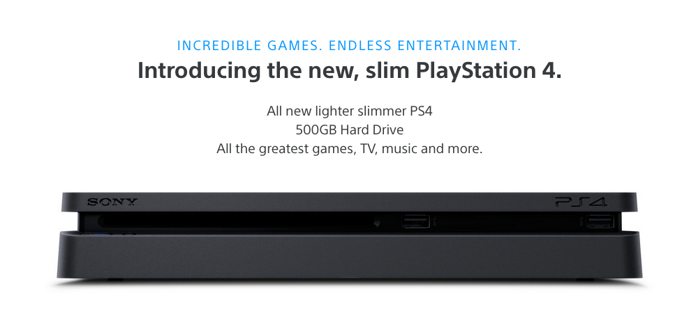 ps4 slim incredible games endless entertainment