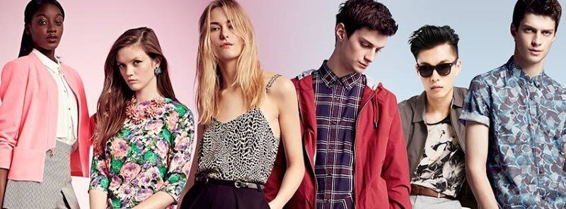 River Island fashion for men and woman