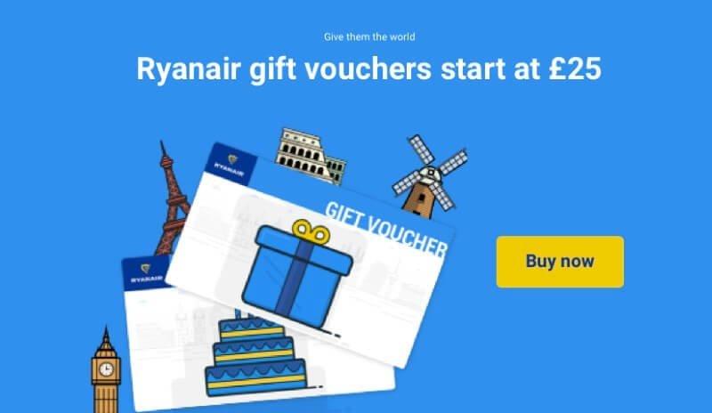 Ryanair Gift Vouchers