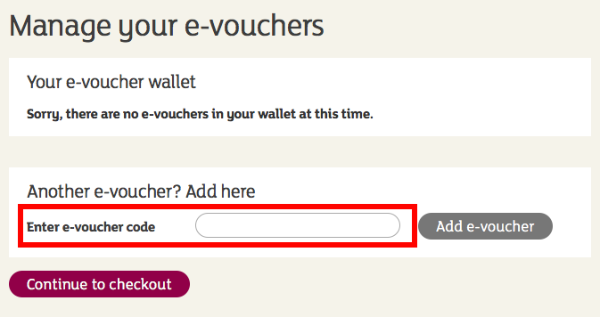 sainsburys voucher code redemption