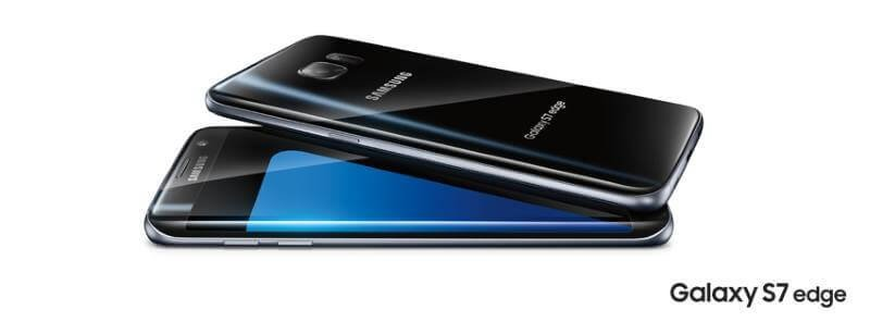 S7 Edge front view