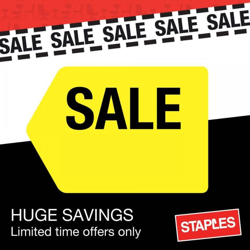 staples sale