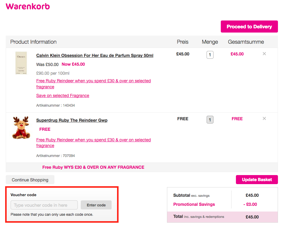 How To Purchase Superdrug Gift Vouchers