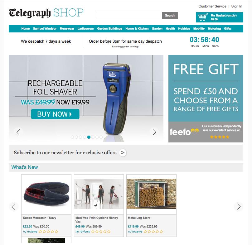 telegraph shop