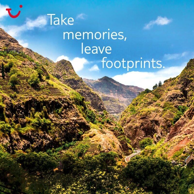 thomson holidays take memories leave footprints