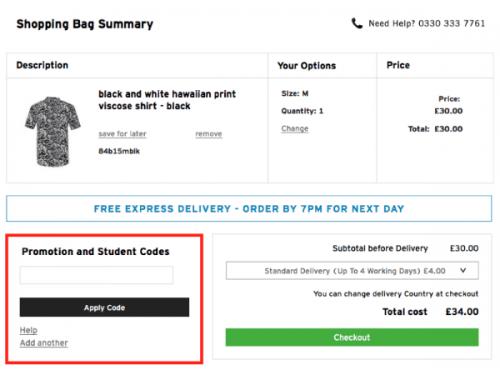 Topman com coupon code