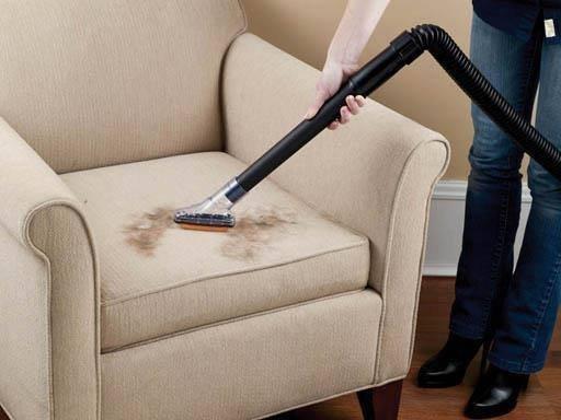 Furniture nozzle brush