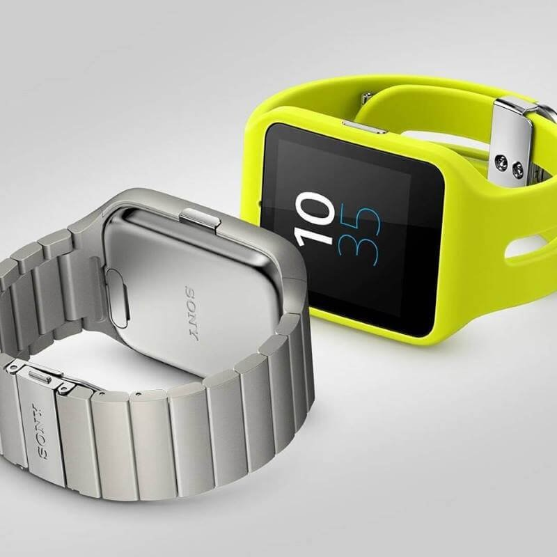 Sony and apple smart watches