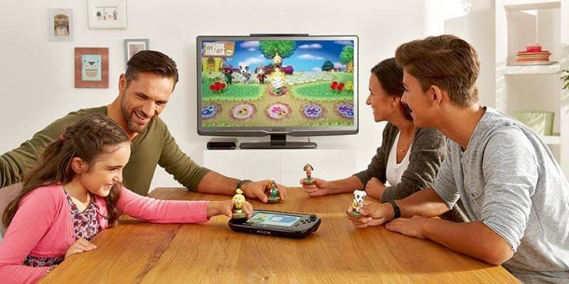 Wii U console is family-friendly