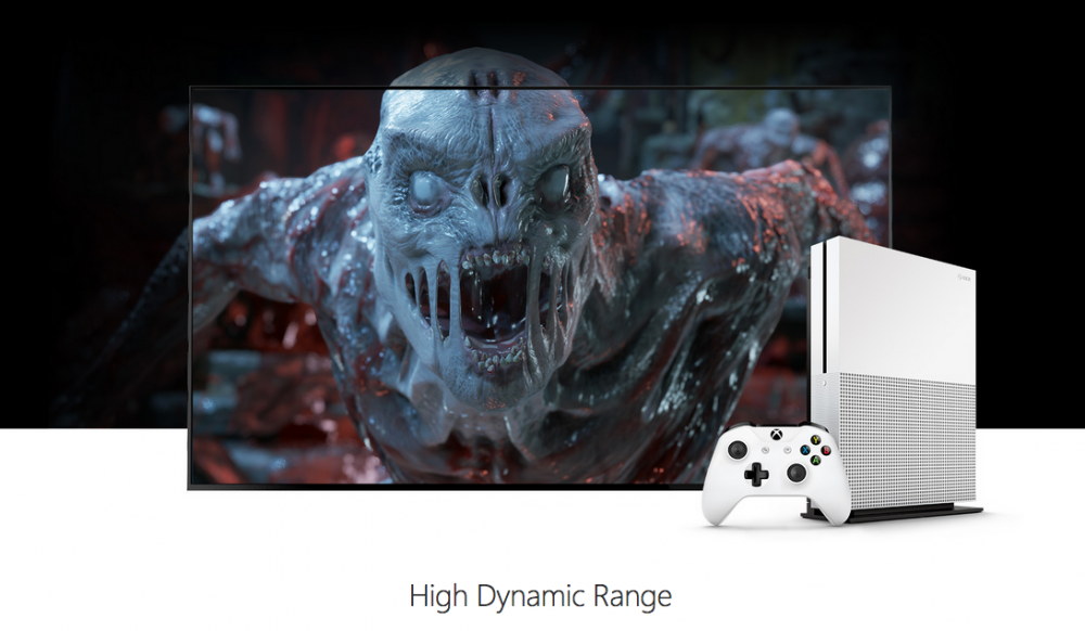 xbox one s high dynamic range
