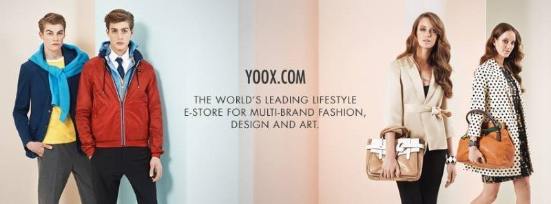 YOOX fashion for men and woman