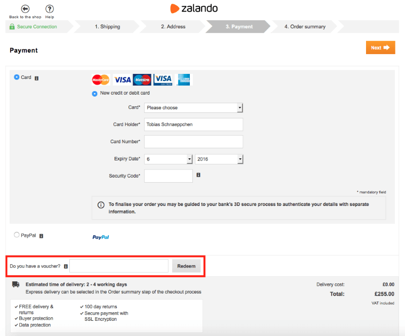 How To Purchase And Use Zalando Gift Cards