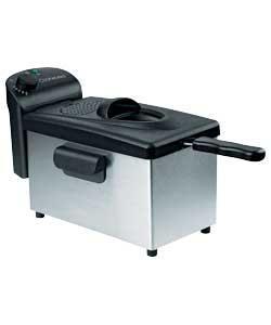 Cookworks Professional Deep Fat Fryer - Stainless Steel