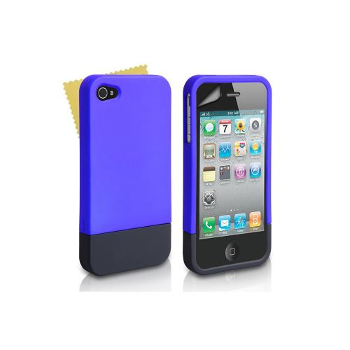 iphone 4s amazon blue and black 2 part slide for the apple iphone 4138