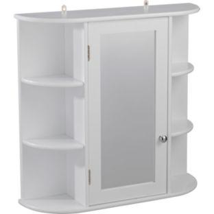 bathroom wall cabinets argos mirrored bathroom cabinet with shelves white was 163 39 99 11845
