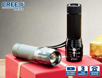Cree torch aldi